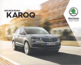 Karoq brochure, 80 pages, German language, 10/2017