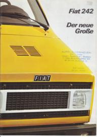 242 Vans & Pickups brochure, 12 pages, 08/1975, German language