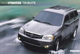 Tribute SUV, 2004, US postcard, A5-size