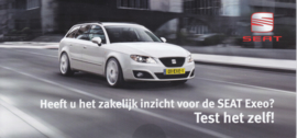 Exeo Stationwagon brochure, 6 pages, about 2012, Dutch language