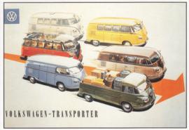 VW T1 Transporter, DIN A6-size, P.A.R.C.-Archiv-Edition, # C 161