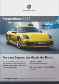 News 04/2012 with Cayman Modelle, 30 pages, 12/12, German language