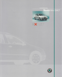 Fabia Exact brochure, 4 pages, German language, 02/2003
