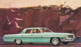 Dynamic 88 Celebrity Sedan, US postcard, standard size, 1962
