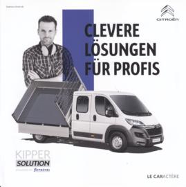 Jumper Kipper by Henschel brochure, 4 pages, German language, 01/2017