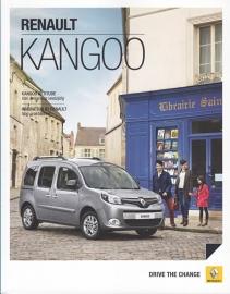 Kangoo brochure, 48 pages, 08/2013, Dutch language