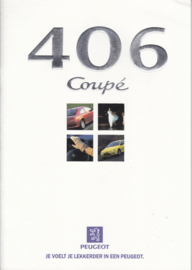 406 Coupé brochure, 32 pages, A4-size, 9/1997, Dutch language