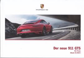 911 GTS pricelist brochure, 84 pages, 01/2017, German