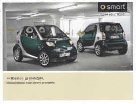 Fortwo Edition Grandstyle brochure,  6 pages, 09/2005, Italian language