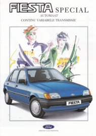 Fiesta Special CVT automatic brochure, 4 pages, 03/1990, Dutch language