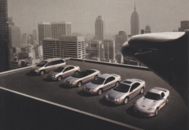 program 6 models, A6-size postcard, about 1999, issue Chrysler Europe