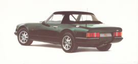 S3c Convertible brochure, 4 pages + specs., English language, about 1990 *
