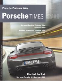 Porsche Times magazine, # 2-2011, 12 pages, PC Köln