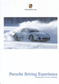 Driving Experience brochure, 4 pages, 10/2009, German language