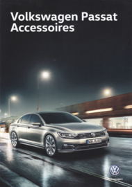 Passat accessories brochure, A4-size, 4 pages, 2018, Dutch language