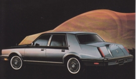 Continental, US postcard, standard size, 1983