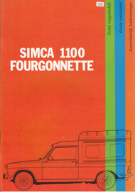 1100 Fourgonnette, 16 pages, 2/1973, Dutch language