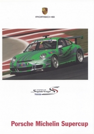 911 Michelin Supercup brochure,  12 pages, 11/2005, German