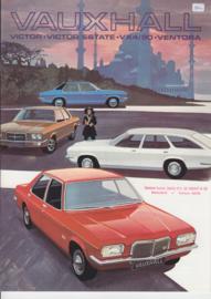 Victor/Victor Estate/VX 4/90 & Ventora range, 8 pages, Dutch language, 1972