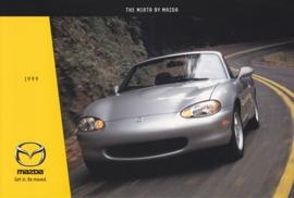 Miata Convertible, 1999, US postcard, A5-size