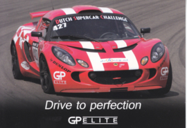 Exige sportscar,  A6-size card by GP Elite, about 2015, Dutch issue