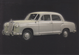 Mercedes-Benz 190 1956, Classic Car(d) of the month 9/2003, Germany