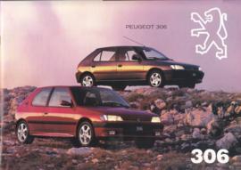 306 Hatchback brochure, 24 + 26 pages, A4-size, 1994 Dutch language (Belgium)