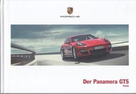 Panamera GTS brochure, 52 pages, 03/2012, hard covers, German