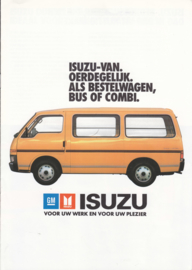 Van/Bus/Combi, 8 pages, Dutch language, about  1985