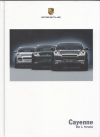 Cayenne brochure, 188 pages, 06/2004, hard covers, German