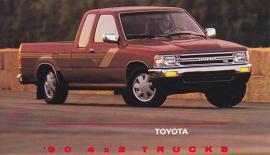 4x2 Pick-up Trucks, US postcard, 1990