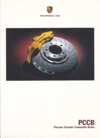 Ceramic brakes - PCCB brochure, 8 pages, 06/2002, German language