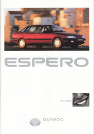 Espero brochure,  24 pages,  3/1996, Dutch language