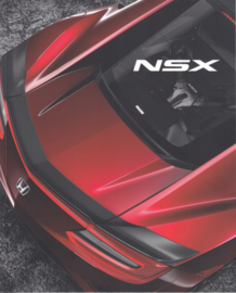 NSX, 40 page brochure, 21 x 26 cm, German, 05/2016, # 2611607