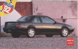 Beretta,  US postcard, standard size, 1992