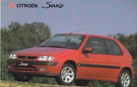 Citroën Saxo, sticker, 15 x 10 cm