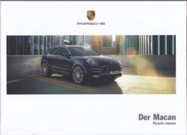 Macan model brochure, 190 pages, 03/2017, hard covers, German