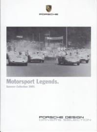 Selection Motorsport brochure, 16 pages, 05/2005, English language