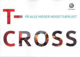 T-Cross brochure, A4-size, 40 pages, 03/2019, Danish language
