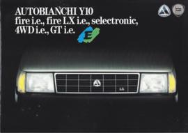 Y10 range, 6 pages, IV/1992, Italian language