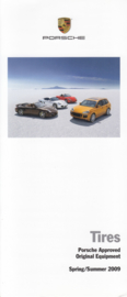 Tires approved equipment brochure 2009, 6 small pages, # 2009-1, USA, English