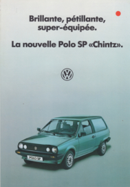 Polo SP Chintz brochure, 4 pages,  A4-size, French language, 1984