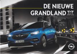 Grandland X brochure, 8 pages, 06/2017, Dutch language