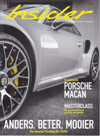 Porsche Insider # 11, Autumn 2013, Dutch, 60 pages