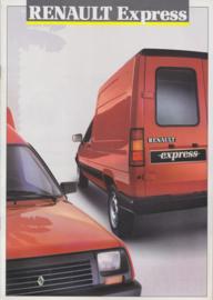 Express brochure, 20 pages, 1988, A4-size, Dutch language