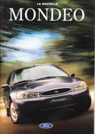 Mondeo brochure, 50 pages, 09/1996, French language (Swiss)