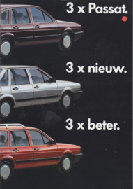Passat brochure, 8 pages., A4-size, Dutch language, 1/1985