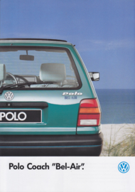 """Polo Coach """"Bel-Air"""" brochure, 4 pages,  A4-size, French language, 06/1992"""
