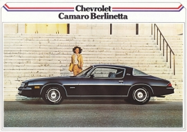 Camaro Berlinetta Coupe 1979, 2 pages, export, Dutch language