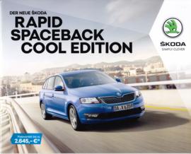 Rapid Spaceback Cool Edition brochure, 16 pages, German language, 09/2017